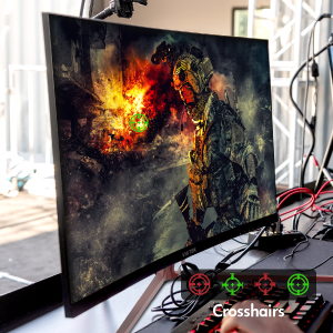 Gameplus provides multiple crosshair functions for superior control and aim. Turn on AMD FreeSync