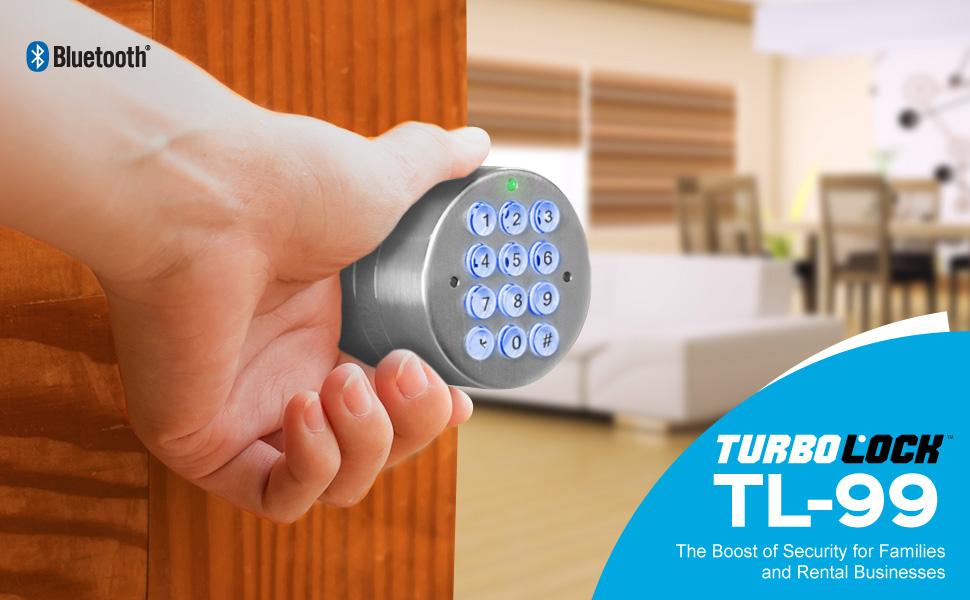 Amazon Com Turbolock Tl 99 Bluetooth Smart Lock For