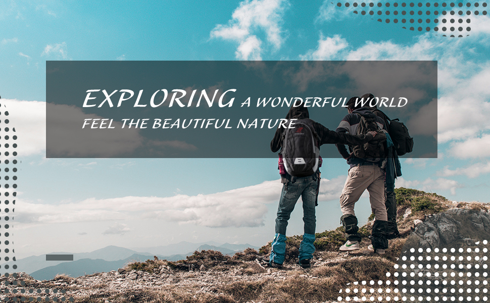 Bring it with you to explore this wonderful world, and feel the beauty and wonder of the world with your heart!