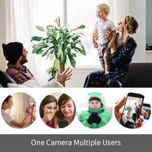 mini spy camera hidden camera nanny cam wifi wireless hd 1080p with night vision motion detection