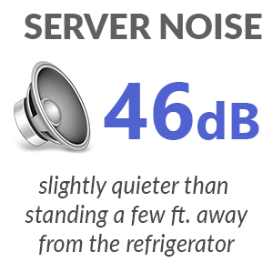 dell poweredge r710 server noise level