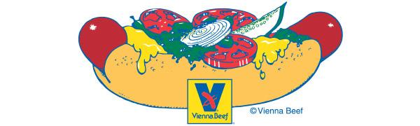 Vienna Beef cartoon logo