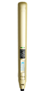 KIPOZI Pro 1 Inch Titanium Flat Iron, Bright Gold