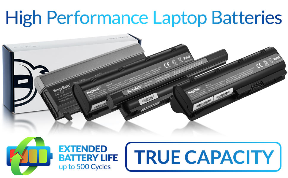 High quality batteries