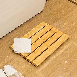 Nice Our Bamboo Shower Mat Use The 100% Selected Natural Bamboo Which Is  Renewable, And The Growth Cycle Is Short, Just 4 6 Years.And Bamboo Bath Mat  Is ...