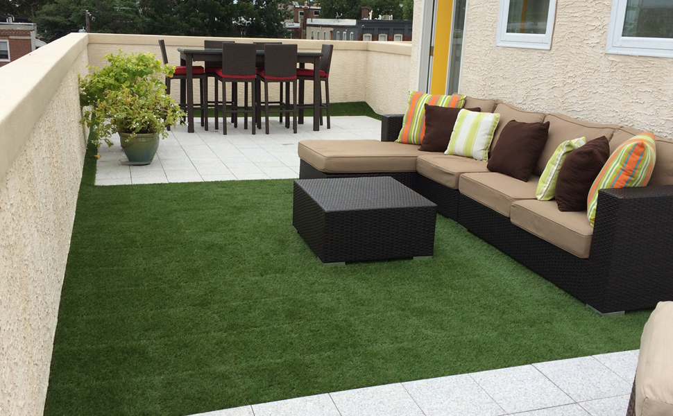 Charming Golden Moon Exclusive Garden Artificial Grass Rug Makes Your Garden Like  Spring All The Year Round. Also Great For Outdoor Activities,such As Party,  ...