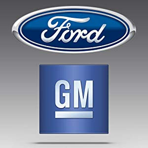 Ford and GM logo