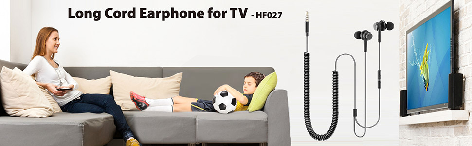 long cord earphone