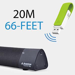 Amazon.com: Avantree Leaf Long Range USB Bluetooth Audio