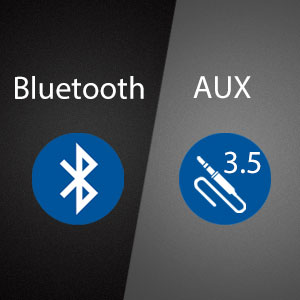 Bluetooth Wired 2 in 1