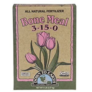 down to earth bone meal compost box omri listed enhancer conditioner fertilizer soil grass