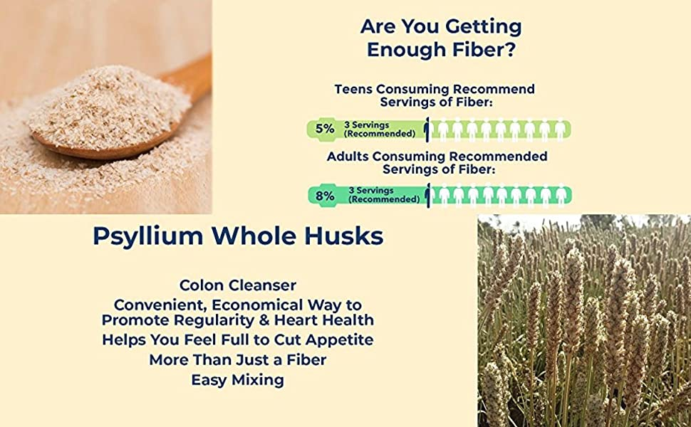 Psyllium Whole Husk are you getting enough servings of fiber for colon cleansing