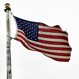 beautiful flag to show made in the usa