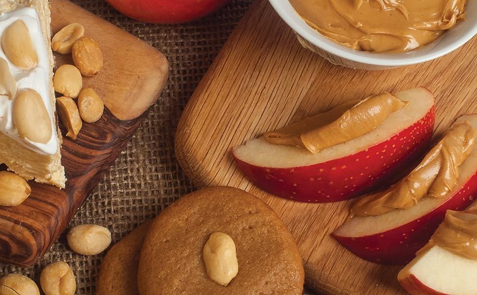 low glycemic peanut butter same taste less calories healthy diet creamy crunchy diabetes
