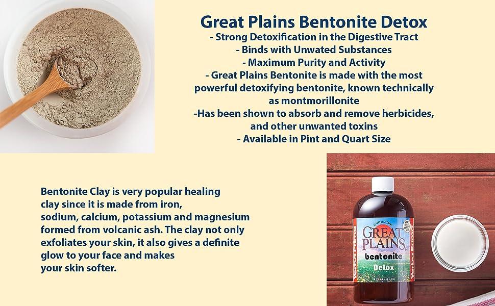 great plains bentonite detox clay potassium herbicides toxins healthy best