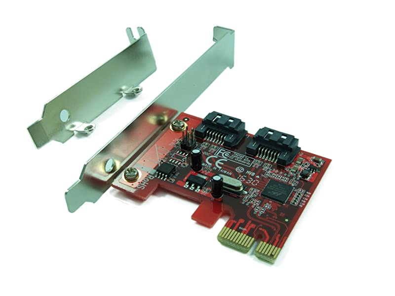 Ableconn PEX-SA115 2-Port SATA 6G PCI Express Host Adapter Card - AHCI  6Gbps SATA III PCIe 2 0 Controller Card (Marvell 88SE9128 Chipset) -  Support