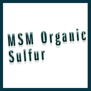 MSM powder ingredient for msm benefits like joint support, increased energy, and hair growth