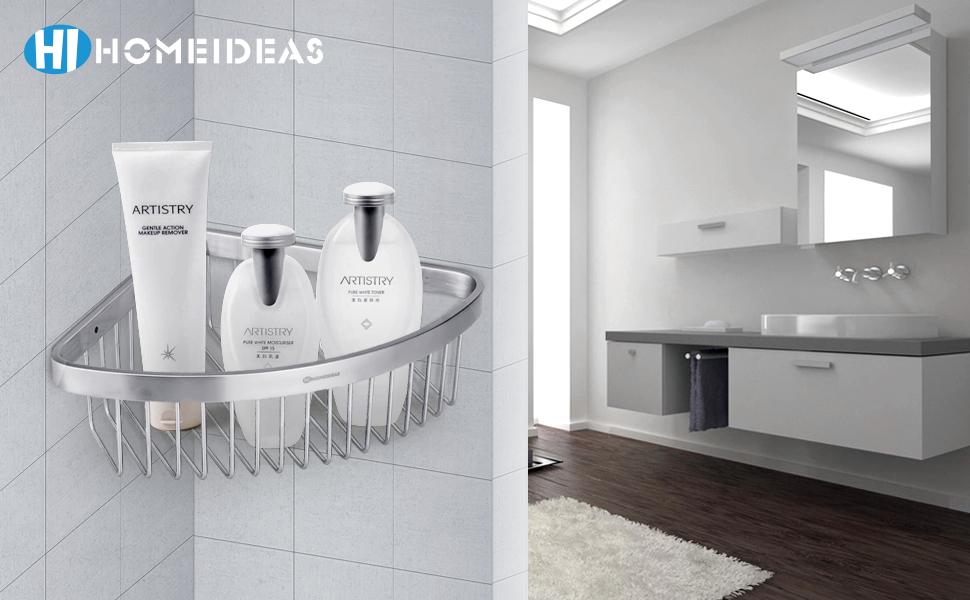 HOMEIDEAS Corner Shower Caddy