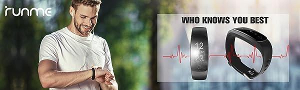 Runme fitness tracker- Intelligent Activity Monitor