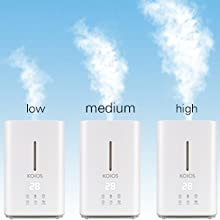 Koios Ultrasonic Cool Mist 4L Humidifier - HK Shared Dream