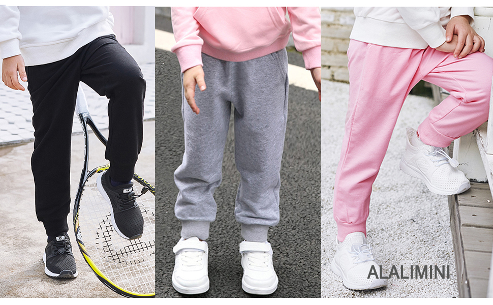 ALALIMINI TODDLER SWEATPANTS SOFT PANTS