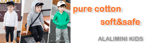 ALALIMINI KIDS CLOTHES SWEATSHIRT SWEAT PANTS