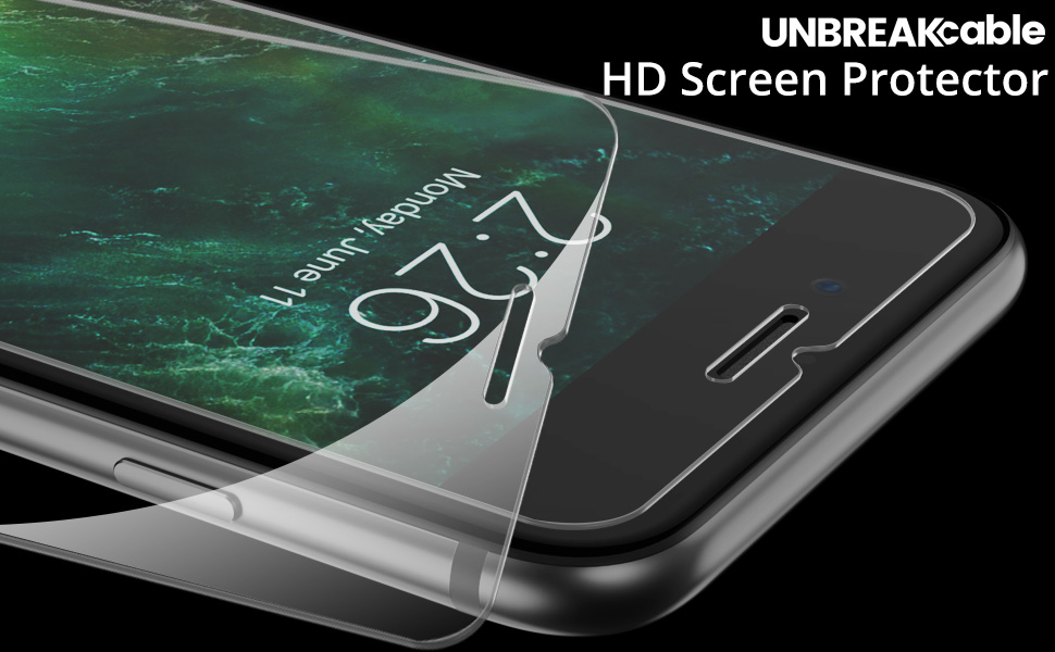 Tempered Glass Screen Protector for iPhone 8/7 Plus 5.5 Inches