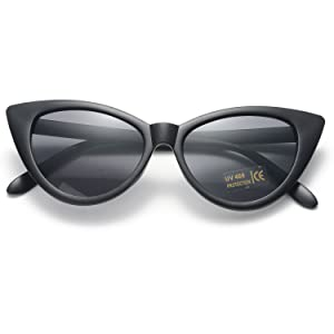 front of sunglasses