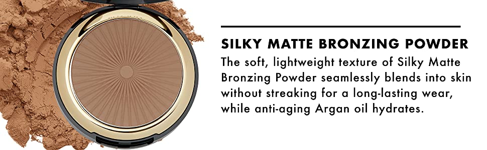 Milani Silky Matte Bronzing Powder - Sun Kissed (0.34 Ounce) Vegan,  Cruelty-Free Bronzer - Shape &...