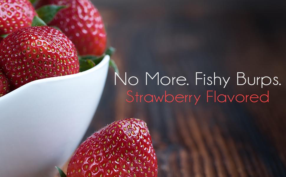 strawberry fish oil