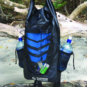 hicking hiking swimming beach valeyball snorkelling diving surfing kite traveling packing gear wet