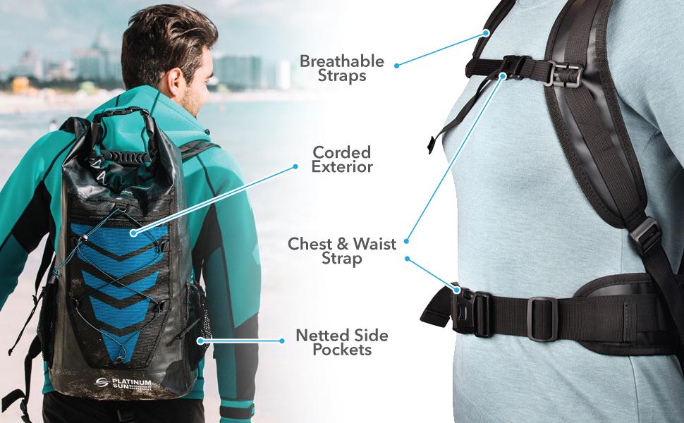 waterproof backpack bag dry bags for water proof kayaking roll pack impermeable kayak top rolltop