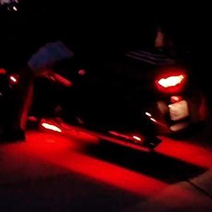 motorcycle light DITRIO M12r brake light feature