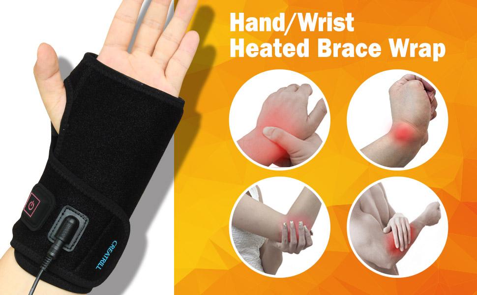 wrist heating pad