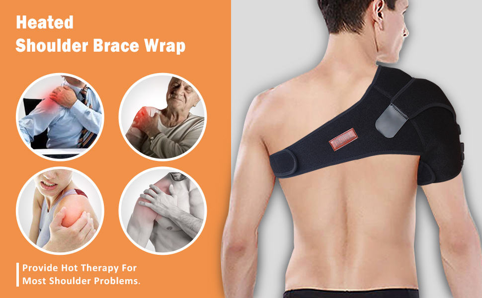 creatrill heating pad for shoulder