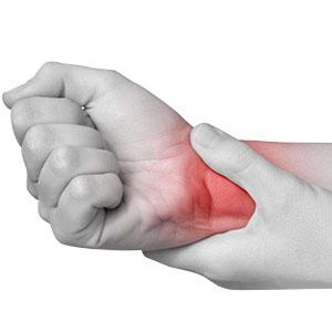 Computer hand pain