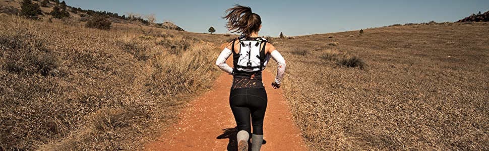 Endurance Pack 2.0 for running and riding, orange mud, ultrarunning, trail running, hydration pack
