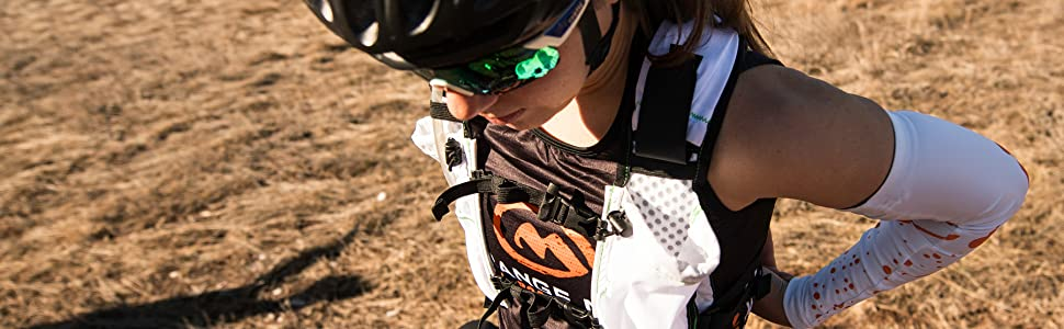 Endurance Pack female fit for ultrarunning and endurance riding