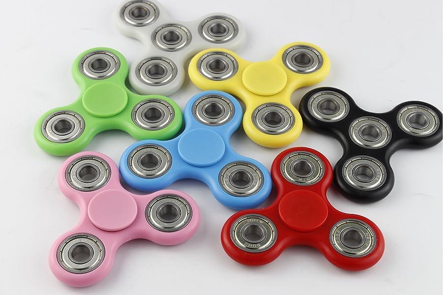 Amazon Fidget Spinner High Speed Tri Spinner Fidget Toy Stress