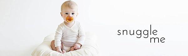 Snuggle Me Organic Cotton Sensory Baby Lounger