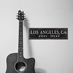 Lifestyle photo for Los Angeles, CA City Sign