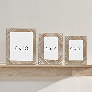 Different Sizes Wood Frame