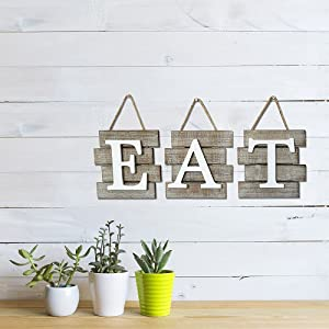 Lifestyle photo for Eat Sign