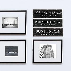 Lifestyle photo for Philadelphia, PA Wood Plaque
