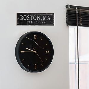 Lifestyle photo for Boston, MA City Sign
