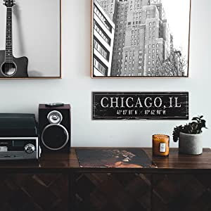 Lifestyle photo for Chicago, IL City Sign