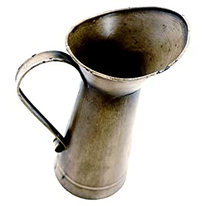 detail photo for Antique Gold Watering Milk Jug Vase