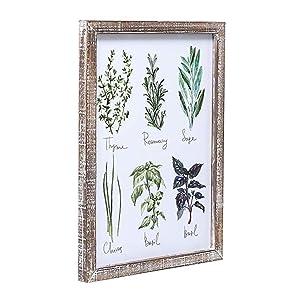 herb plaque