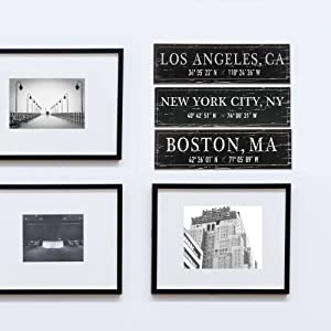 Lifestyle photo for New York City, NY Wood Plaque