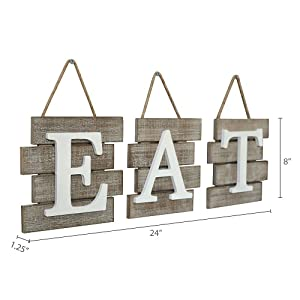 Dimension photo for Eat Sign